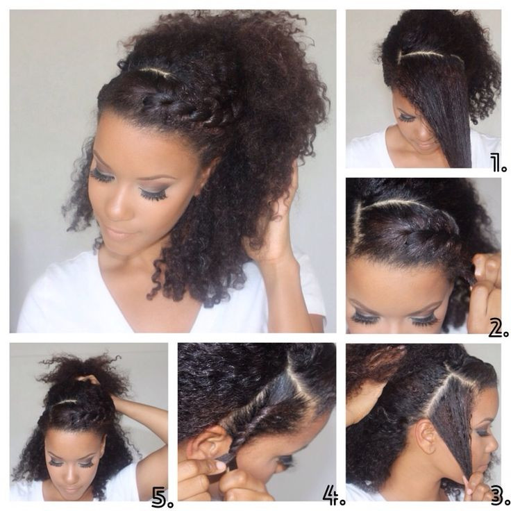 Best ideas about Quick And Easy Natural Hairstyles . Save or Pin Great Tips for Making Easy Natural Hairstyles for Daily Now.