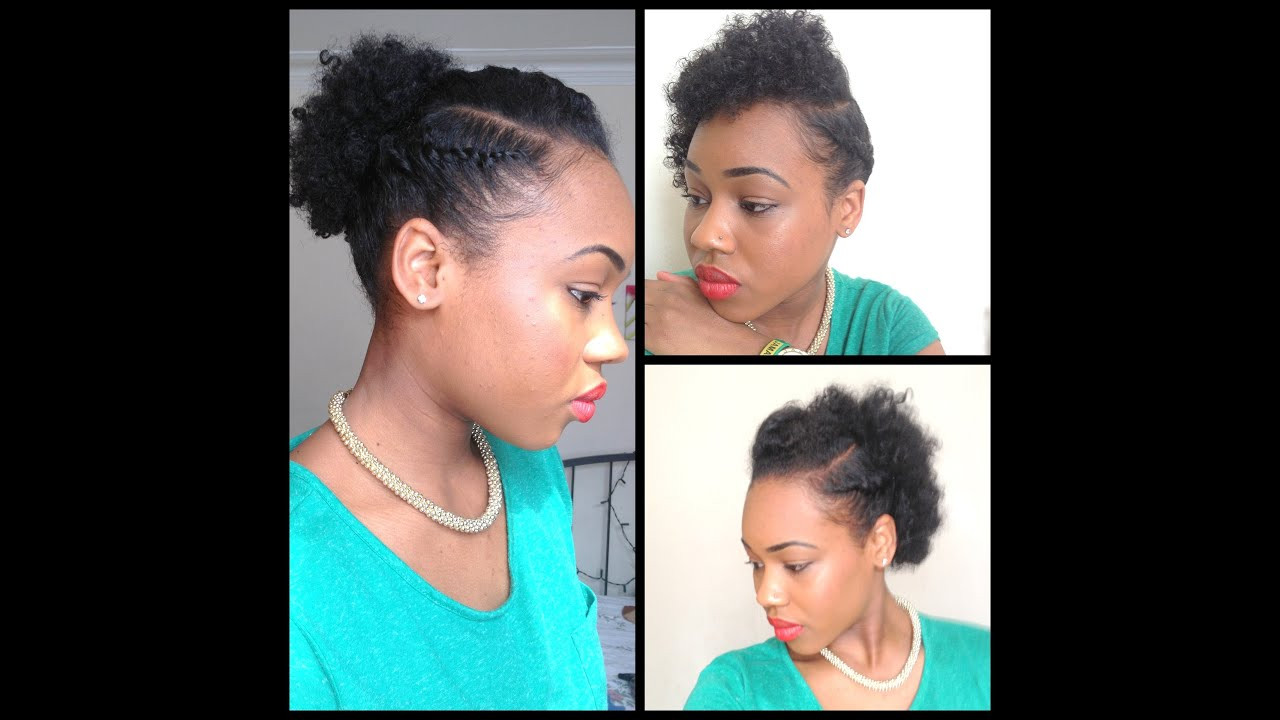 Best ideas about Quick And Easy Natural Hairstyles . Save or Pin 32 3 Quick Easy style for short Natural Hair wash and Now.