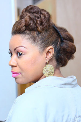 Best ideas about Quick And Easy Natural Hairstyles . Save or Pin Top 9 Quick Short Natural Hairstyles For Attractive Now.