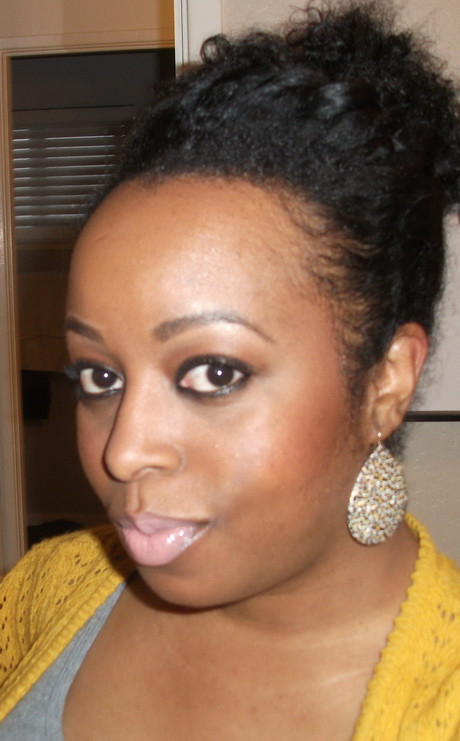 Best ideas about Quick And Easy Natural Hairstyles . Save or Pin Natural hairstyles quick Now.