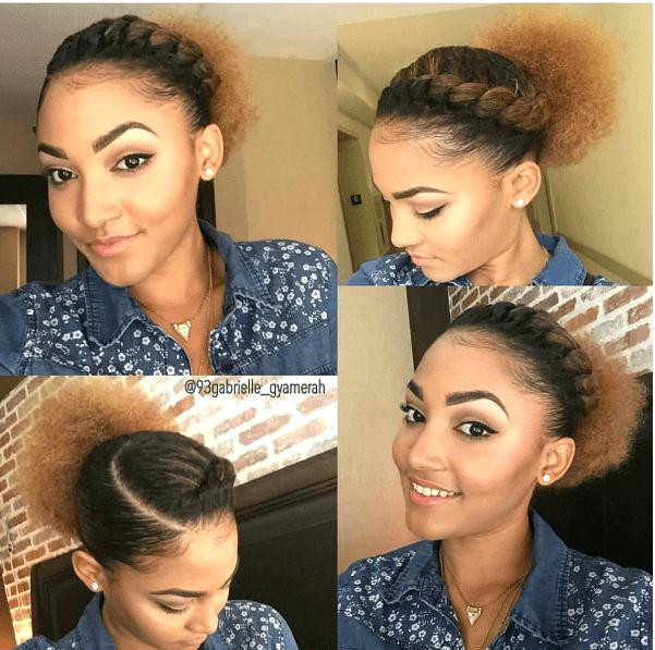 Best ideas about Quick And Easy Natural Hairstyles . Save or Pin home improvement Easy hairstyles for natural hair Now.