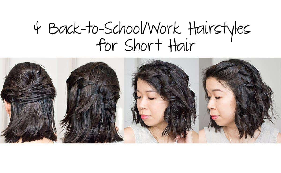 Quick Easy Hairstyles For Medium Hair  Easy hairstyles for short hair Short and Cuts Hairstyles