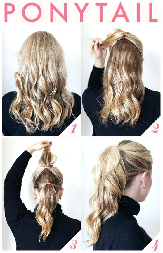 Quick Easy Hairstyles For Medium Hair  home improvement Easy hairstyles for beginners