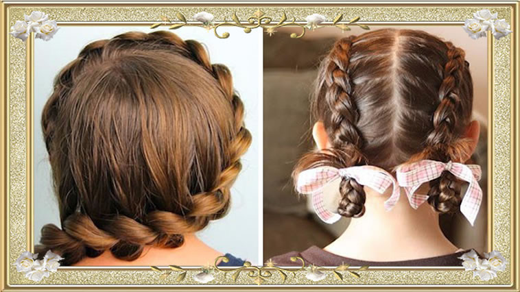 Quick Easy Hairstyles For Medium Hair  50 Braided Hairstyles Back to School
