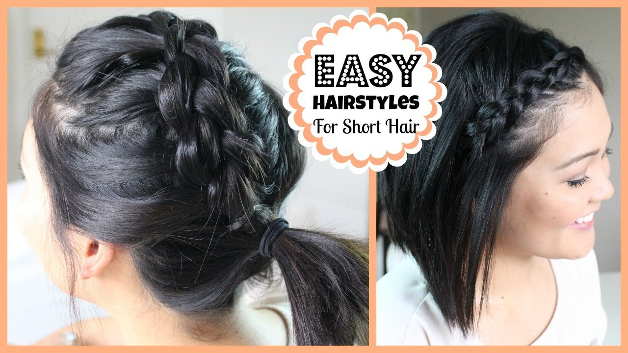 Quick Easy Hairstyles For Medium Hair  Easy Hairstyles for Short Hair
