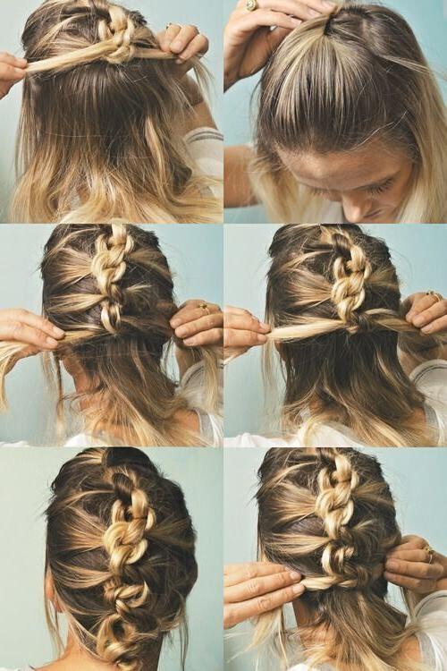 Quick Easy Hairstyles For Medium Hair  15 Best of Medium Long Hair Updos