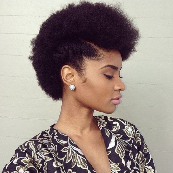Quick Natural Hairstyles  8 Quick & Easy Hairstyles on Medium Short Natural Hair