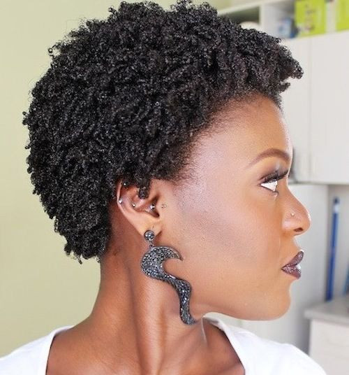 Quick Natural Hairstyles  Best 6 Short Natural Hairstyles for Black Women