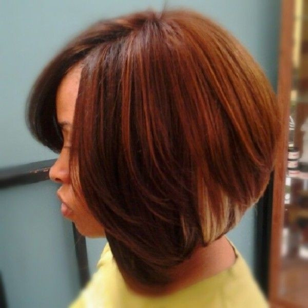 Best ideas about Quick Weave Bob Hairstyles . Save or Pin Groovy Short Bob Hairstyles for Black Women Now.