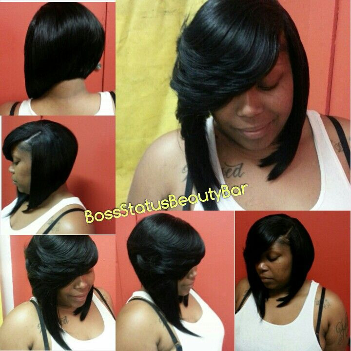 Best ideas about Quick Weave Bob Hairstyles . Save or Pin Feathered Bob Quick Weave Now.