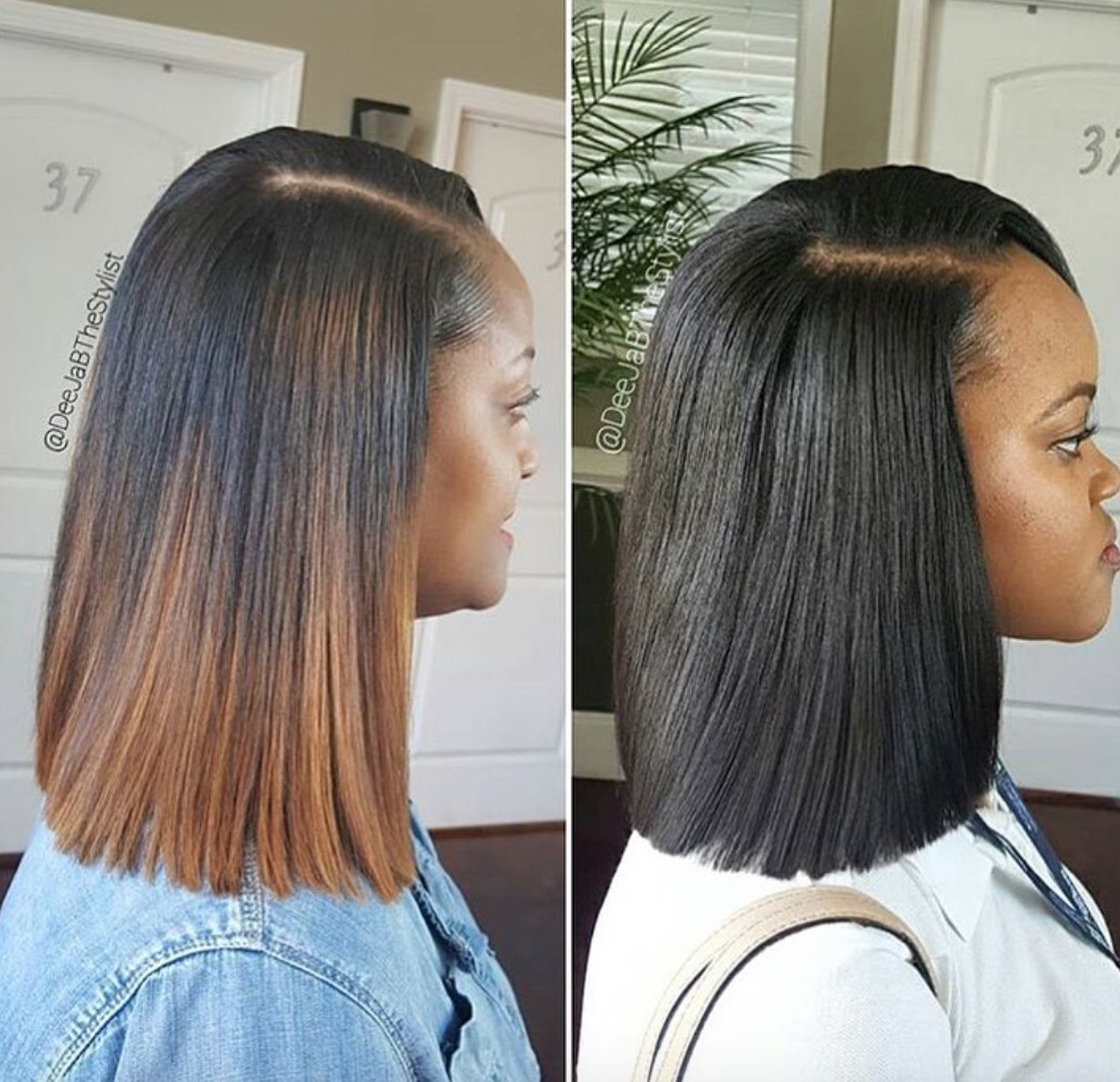 Best ideas about Quick Weave Bob Hairstyles . Save or Pin Amazing sew in vs quick weave by deejabthestylist Black Now.