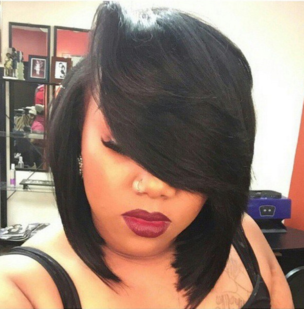 Best ideas about Quick Weave Bob Hairstyles . Save or Pin How to Achieve a Banging Bob with a Quick Weave Now.