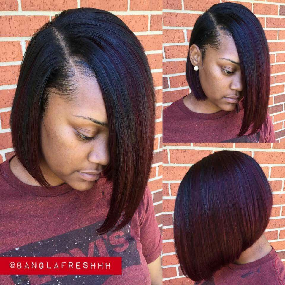 Best ideas about Quick Weave Bob Hairstyles . Save or Pin Bob Cut Weave Hairstyles Now.
