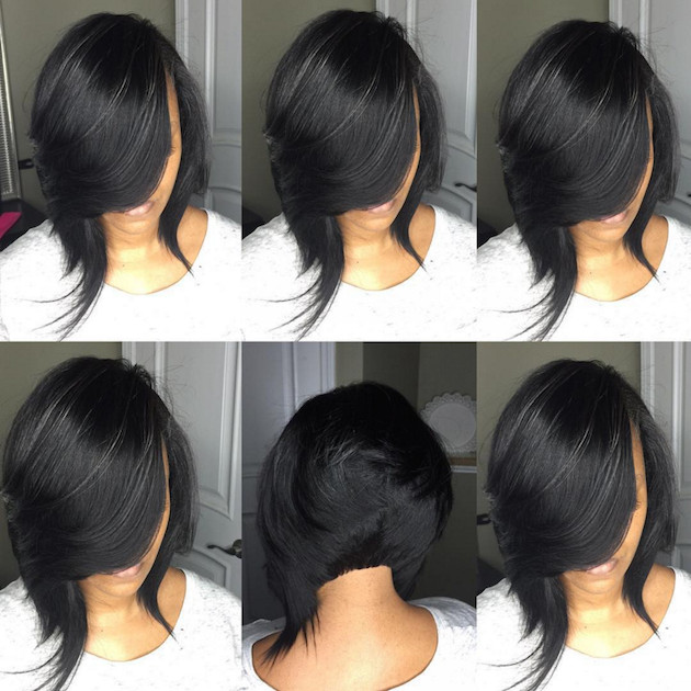 Best ideas about Quick Weave Bob Hairstyles . Save or Pin How to Achieve a Banging Bob with a Quick Weave Voice of Now.