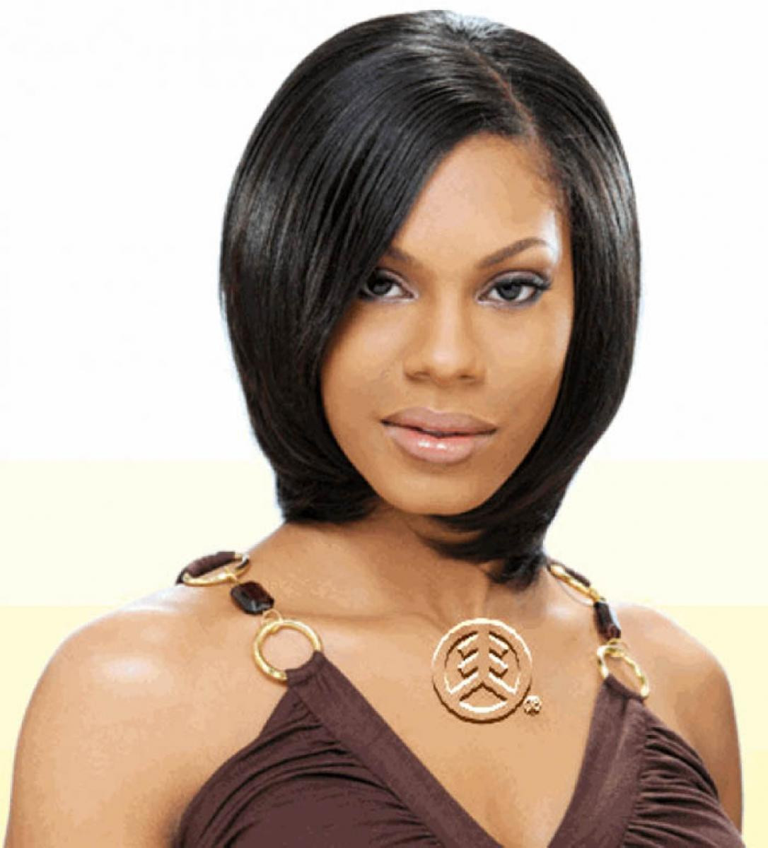 Best ideas about Quick Weave Hairstyles For Black Women . Save or Pin of Black Women Short Hairstyles with Weave Now.