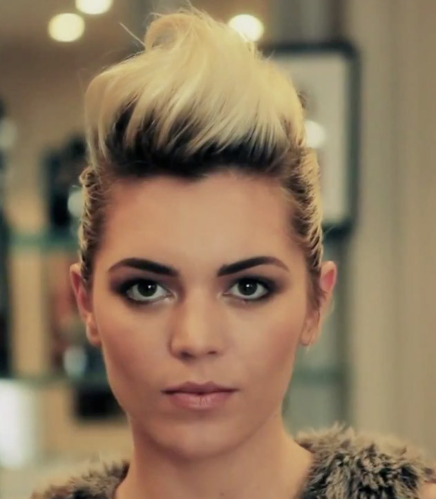 Quiff Hairstyle Female  FastFashion Hair Trend The Quiff