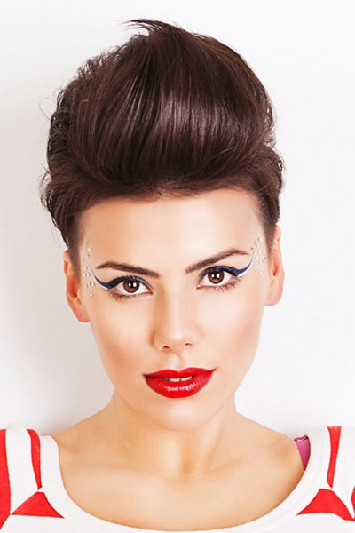 Quiff Hairstyle Female  Quiff Hairstyles for Women