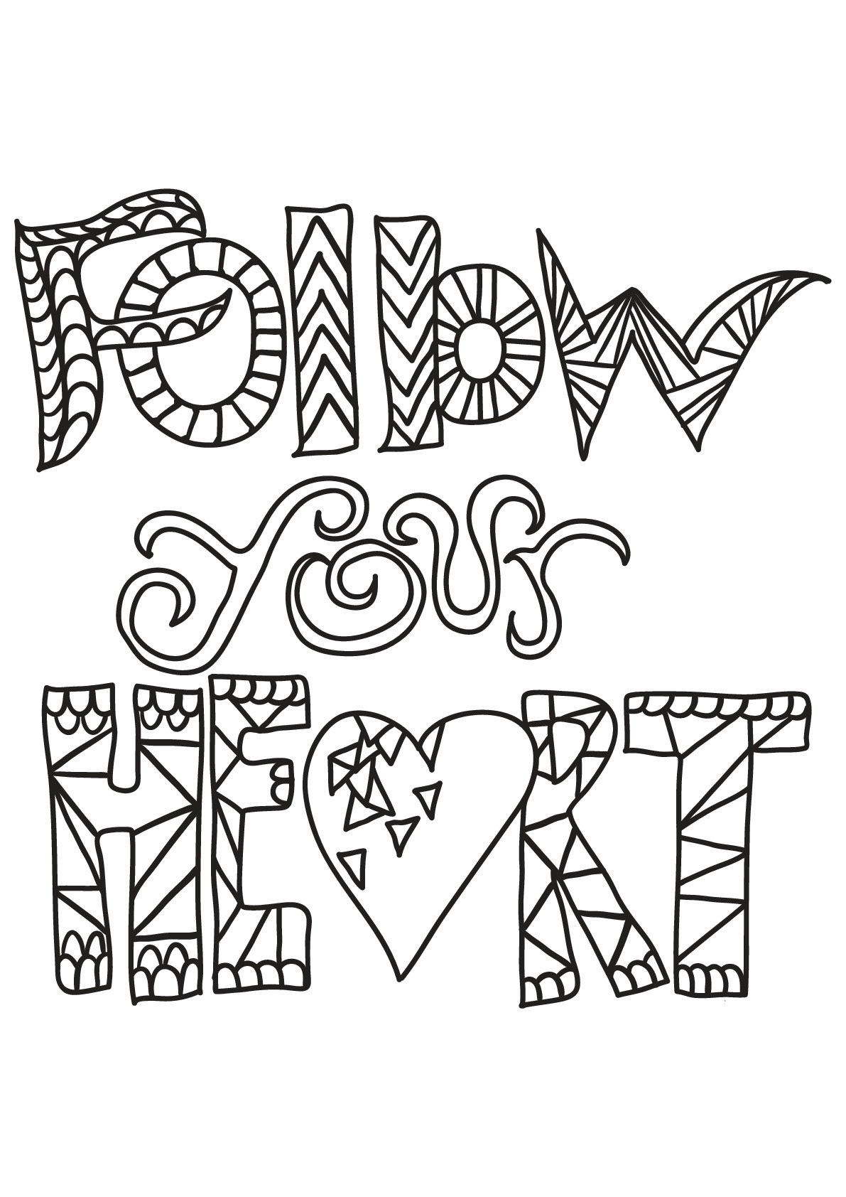 Quote Coloring Pages For Adults  Free book quote 6 Quotes Adult Coloring Pages