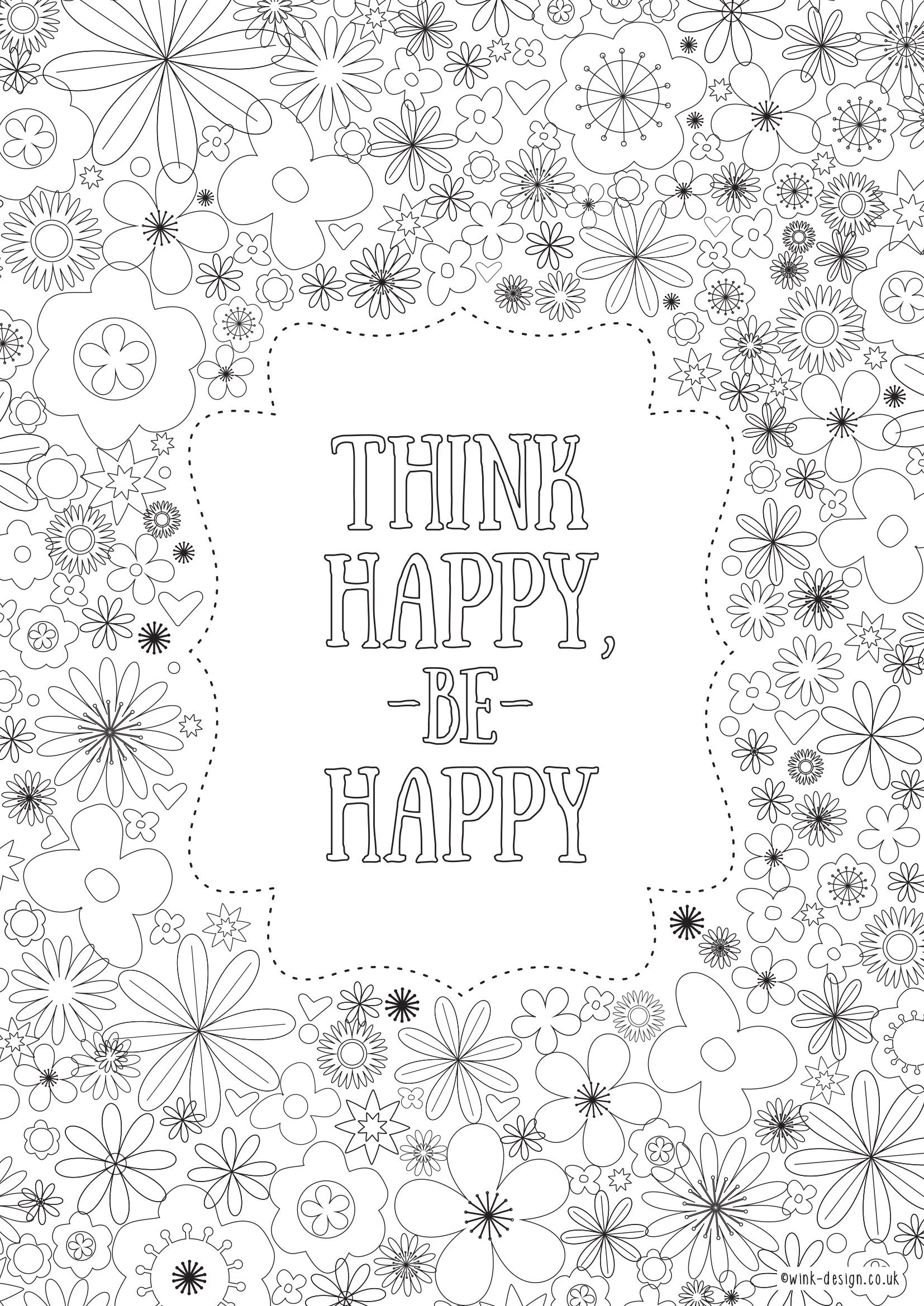 Quote Coloring Pages For Adults  Printable Coloring Sheets For Adults Quotes About