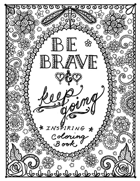 Quote Coloring Pages For Adults  Motivational Quotes Coloring Pages QuotesGram