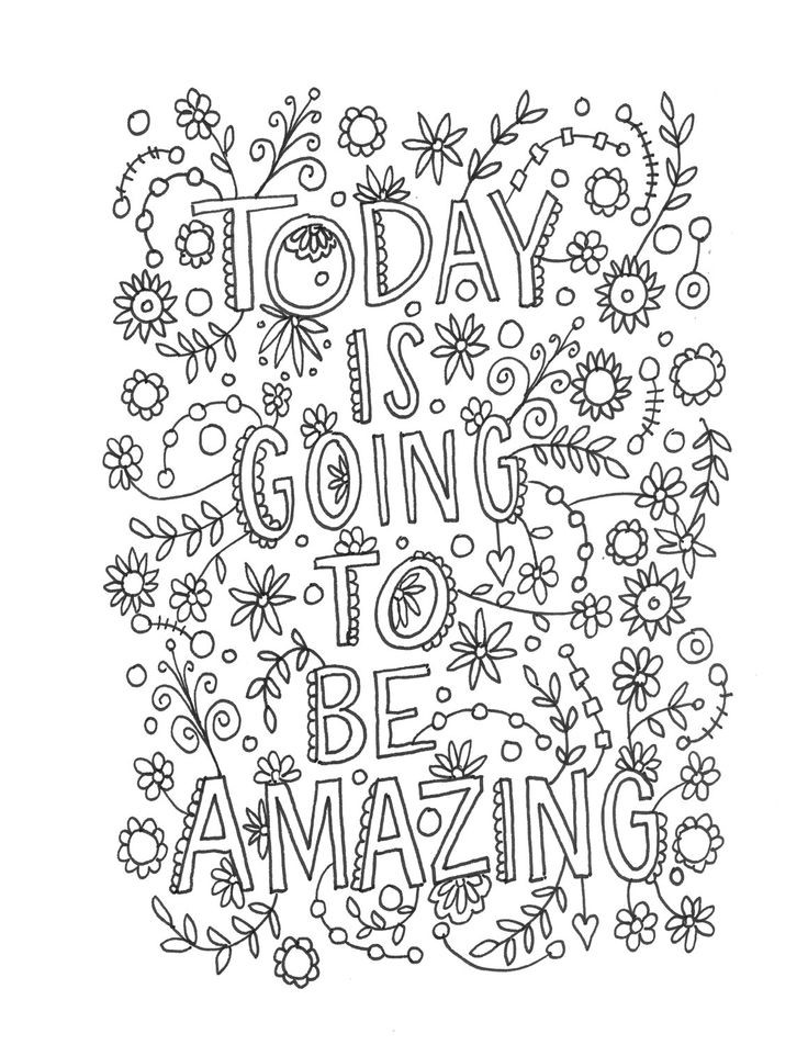 Quote Coloring Pages For Adults  30 Quote Coloring Pages ColoringStar
