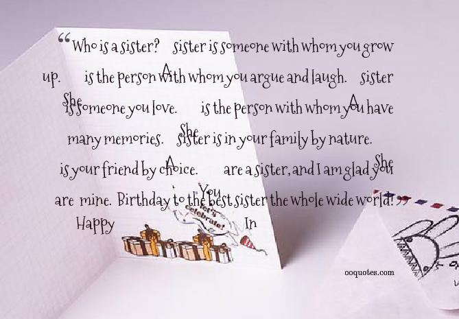 Best ideas about Quote For Sister Birthday . Save or Pin Inspirational Quotes For Sisters Birthday QuotesGram Now.