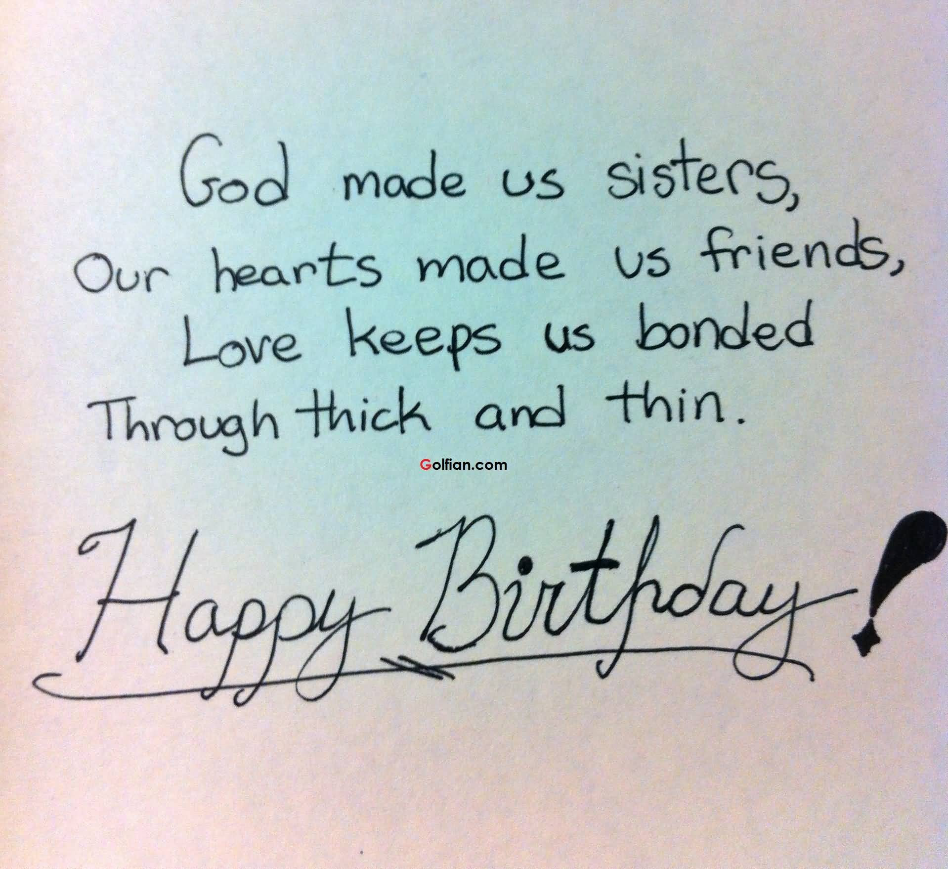 Best ideas about Quote For Sister Birthday . Save or Pin 60 Nice Sister Birthday Quotes – Best Birthday Sayings Now.