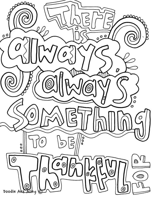 Quotes Coloring Book  Quote Coloring Pages Doodle Art Alley