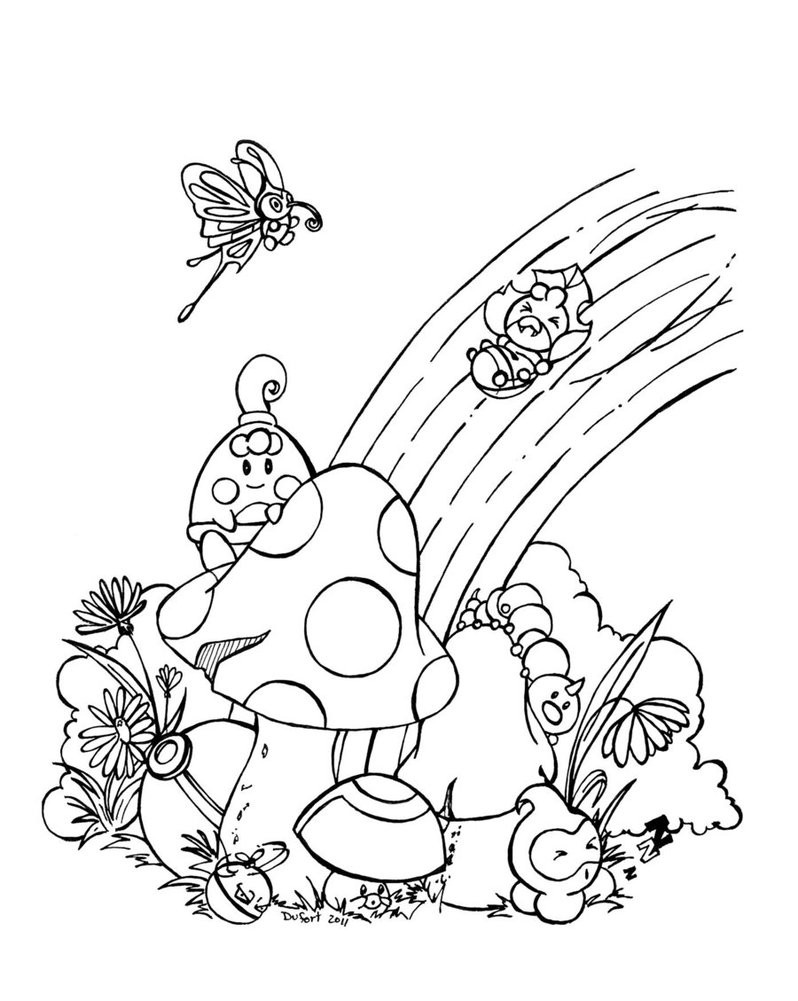 Rainbow Coloring Pages For Adults  Free Printable Rainbow Coloring Pages For Kids