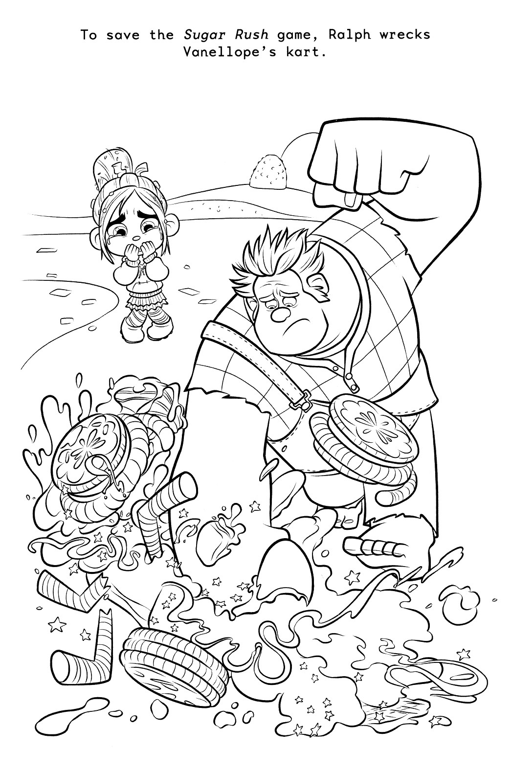 Ralph Breaks The Internet Coloring Pages  Wreck it Ralph Coloring Pages Best Coloring Pages For Kids