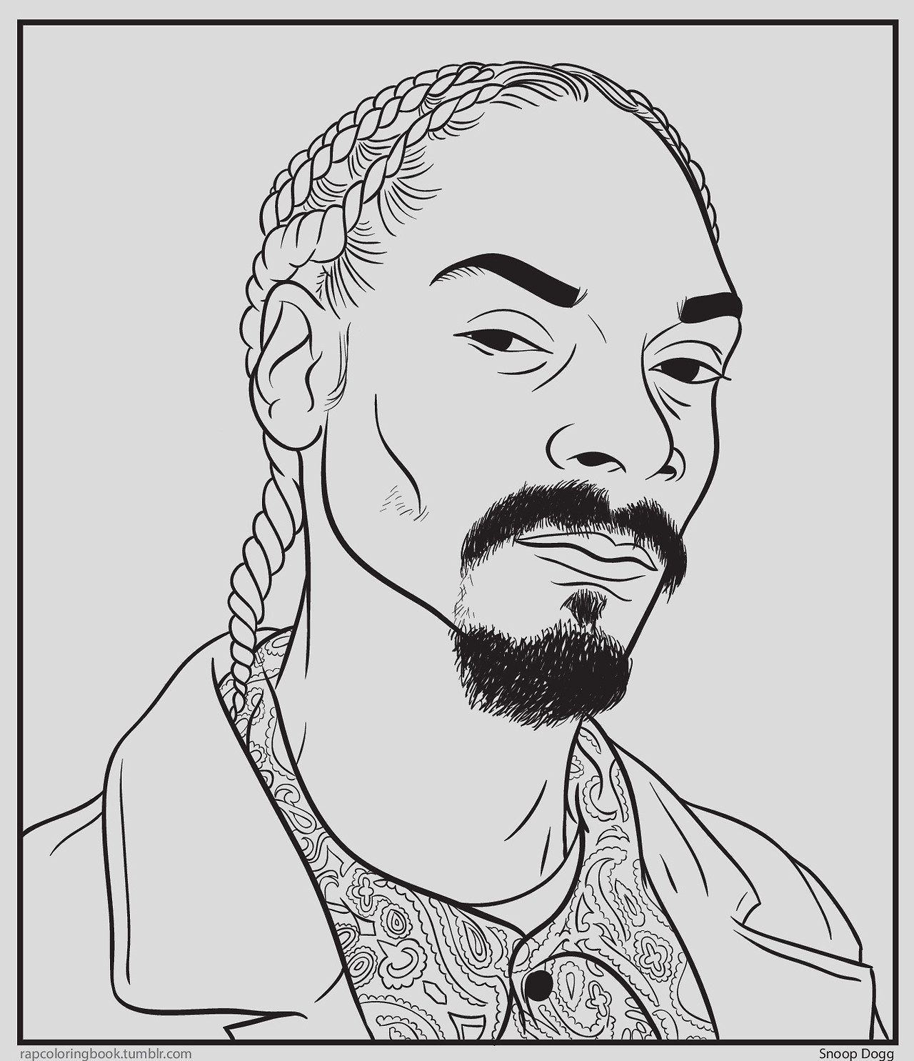 Rapper Coloring Pages  Bun B's Jumbo Coloring and Rap Coloring Book Lost At E
