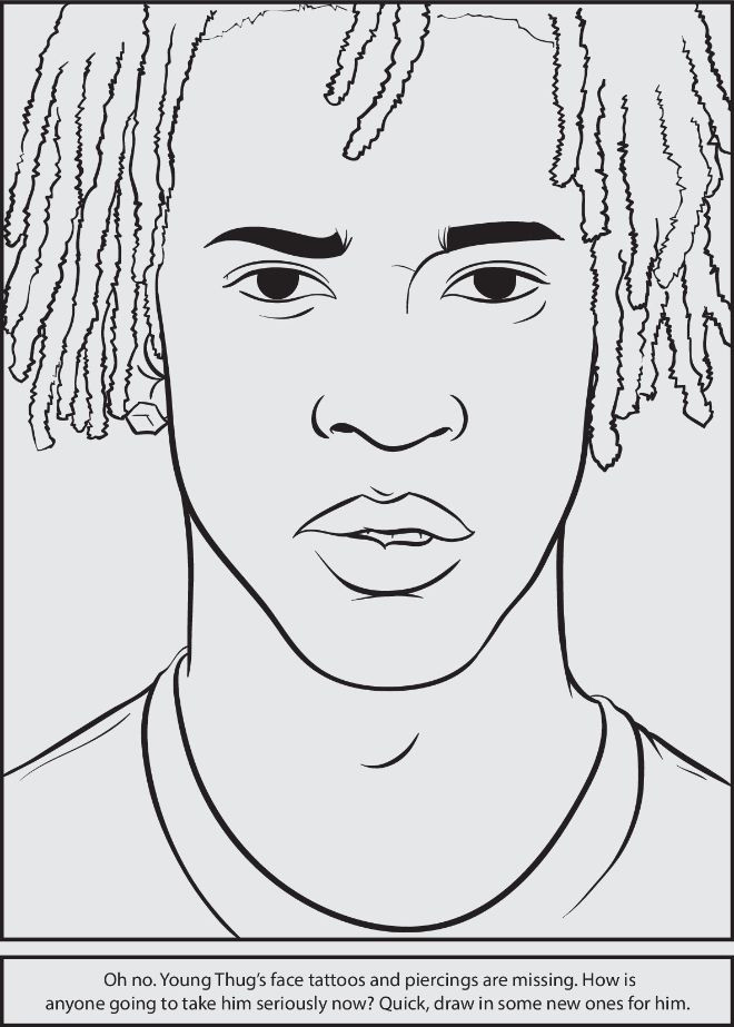 Rapper Coloring Pages  11 best coloring book pages images on Pinterest