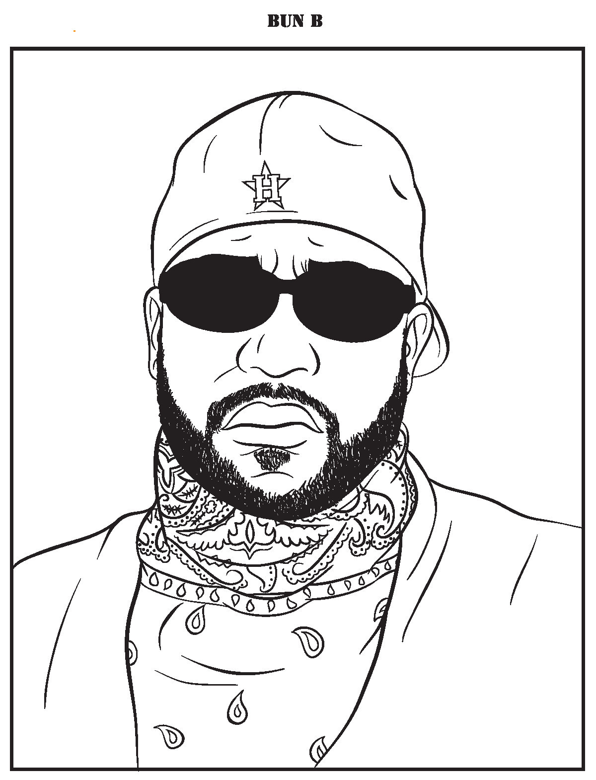 Rapper Coloring Pages  Jay Z Coloring Pages