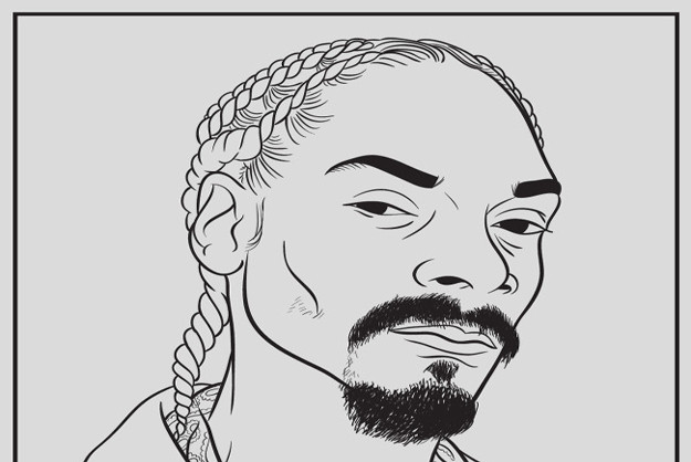 Rapper Coloring Pages  Rap Icon Releases Coloring Book For Grown Ups [Pics] PSFK