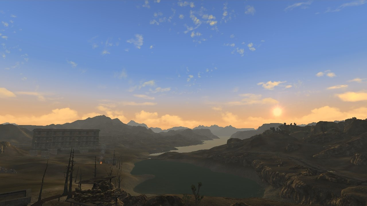 """Best ideas about Realistic Wasteland Lighting . Save or Pin Fallout New Vegas """"FNV Realistic Wasteland Lighting Now."""