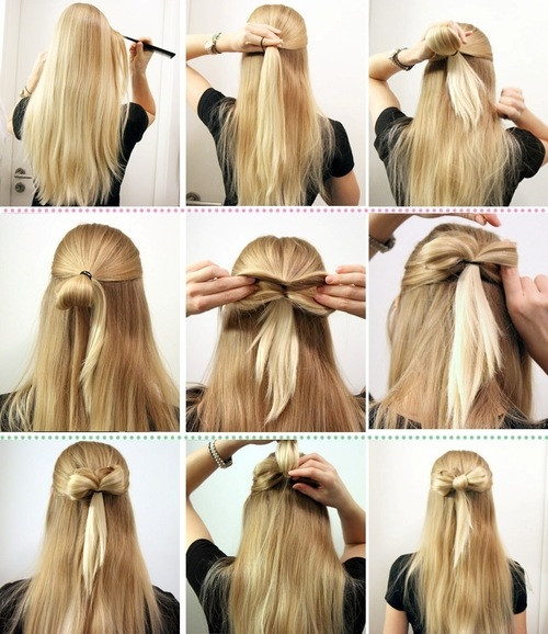 Best ideas about Really Easy Hairstyles . Save or Pin 30 Gorgeous Easy Hairstyles To Try Now Now.