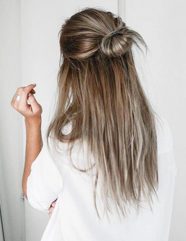 Best ideas about Really Easy Hairstyles . Save or Pin 6 5 Minute Hairstyles for Long Hair Now.