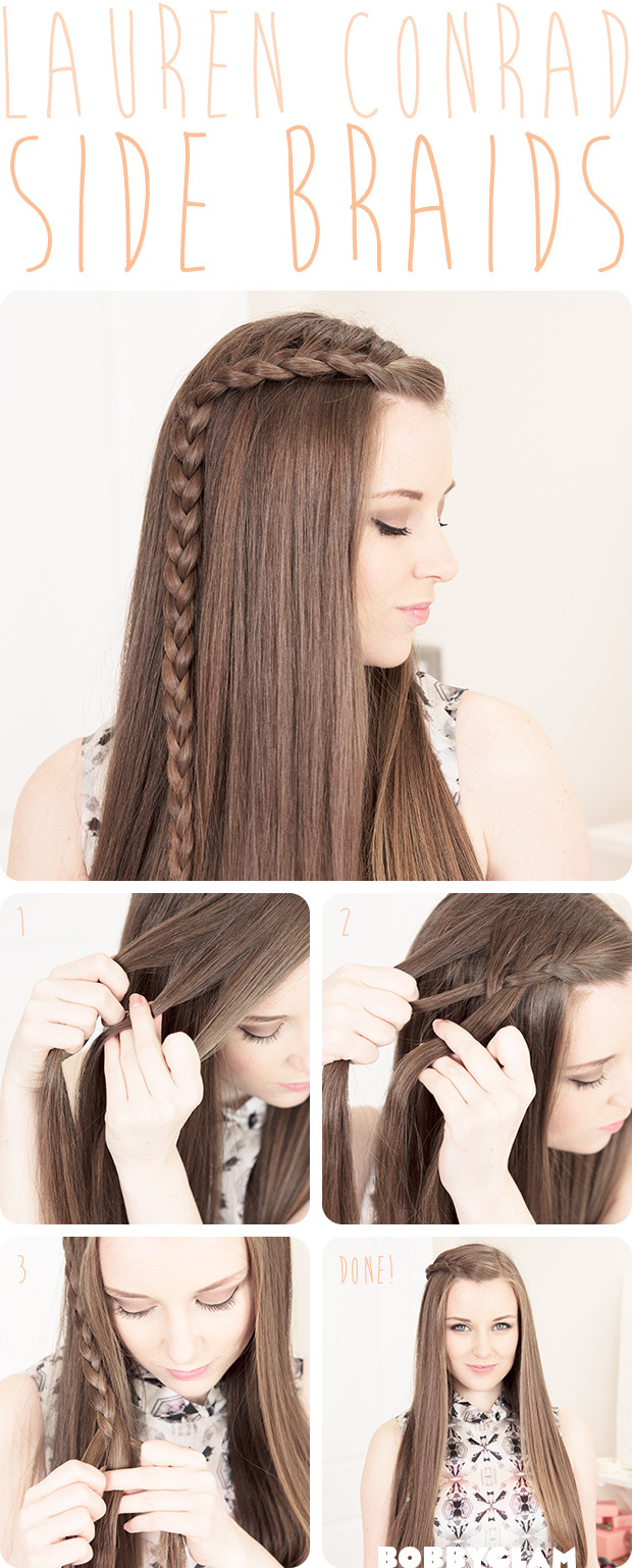 Best ideas about Really Easy Hairstyles . Save or Pin 21 Easy Hair Tutorials & DIY Hairstyles Hairstyles Weekly Now.
