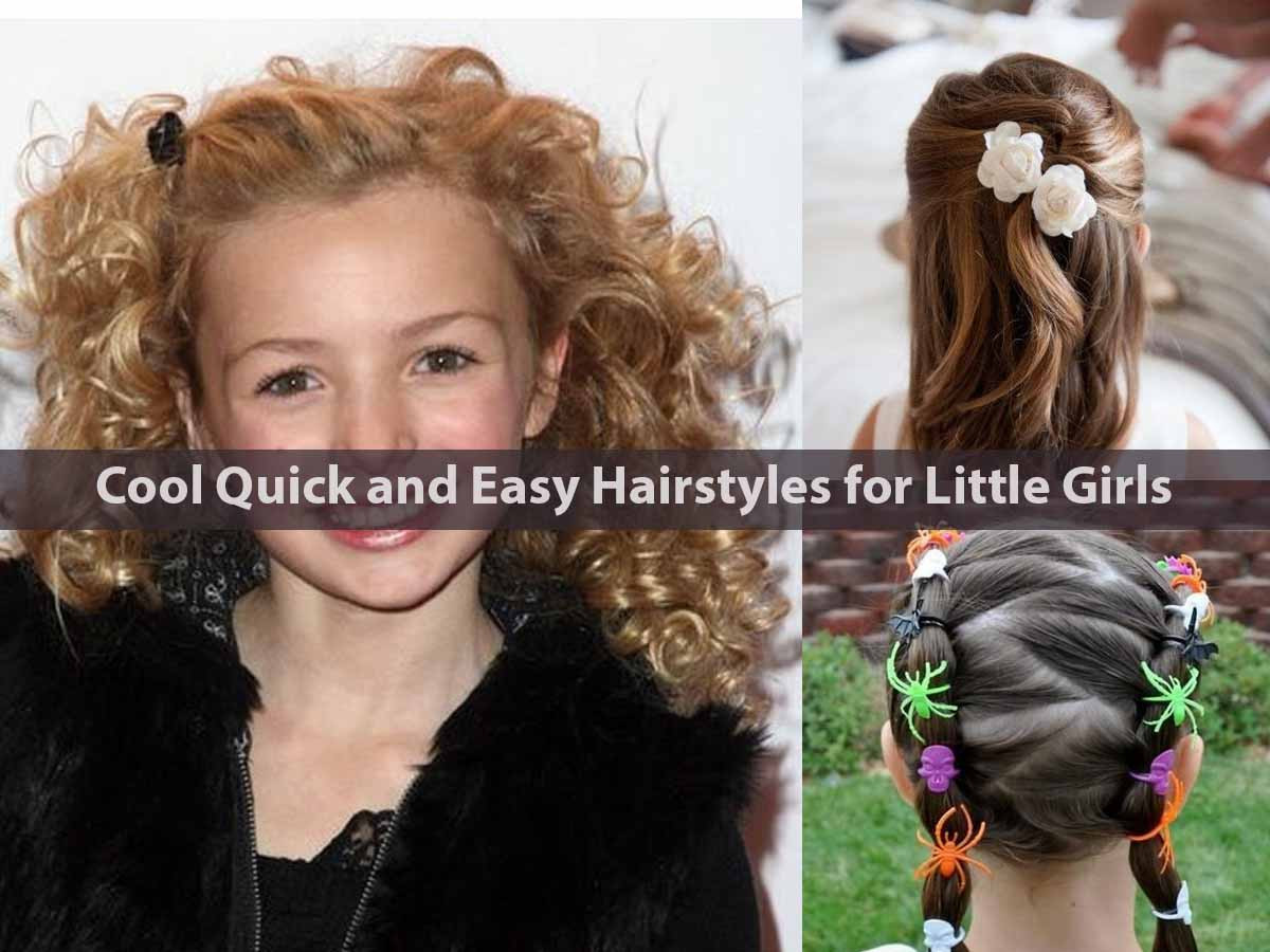 Best ideas about Really Easy Hairstyles . Save or Pin Cool Quick and Easy Hairstyles for Little Girls Now.