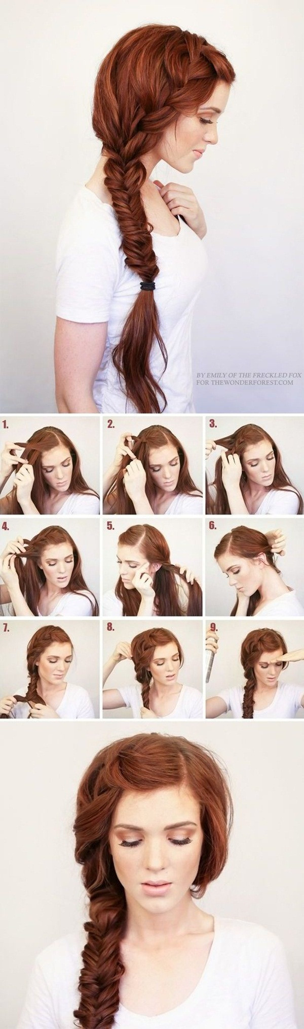 Best ideas about Really Easy Hairstyles . Save or Pin 40 Easy Hairstyles for Schools to Try in 2016 Now.