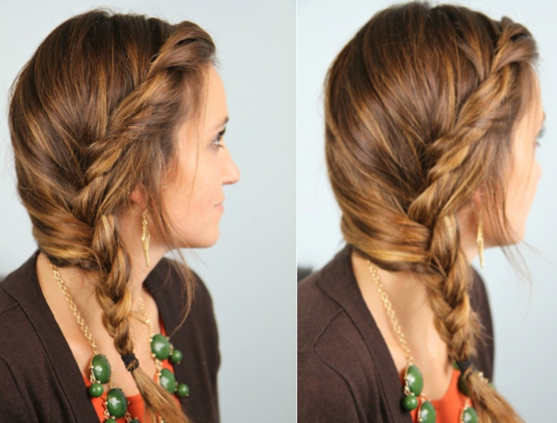 Best ideas about Really Easy Hairstyles . Save or Pin Easy Hairstyles For Long and Medium Hair – HAIRSTYLES Now.
