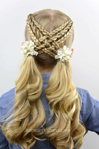 Best ideas about Really Easy Hairstyles . Save or Pin Cool easy hairstyles for kids Now.