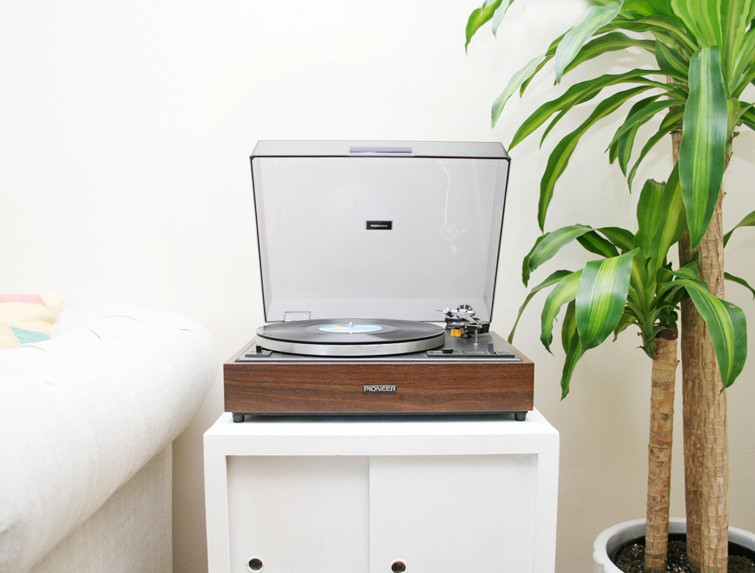 Best ideas about Record Player Stand DIY . Save or Pin DIY Record Player Stand Makeover Now.