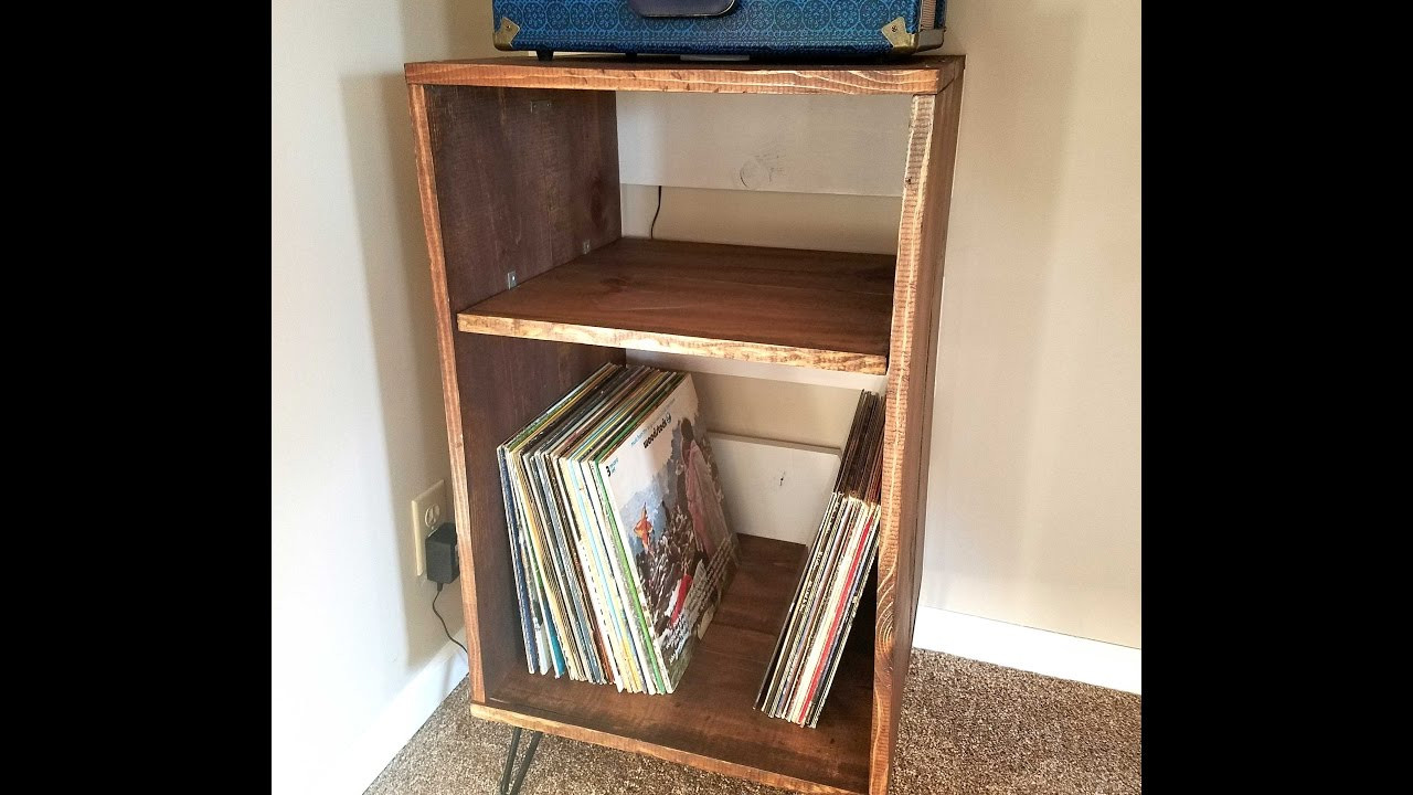 Best ideas about Record Player Stand DIY . Save or Pin DIY Wood Record Player Stand Now.