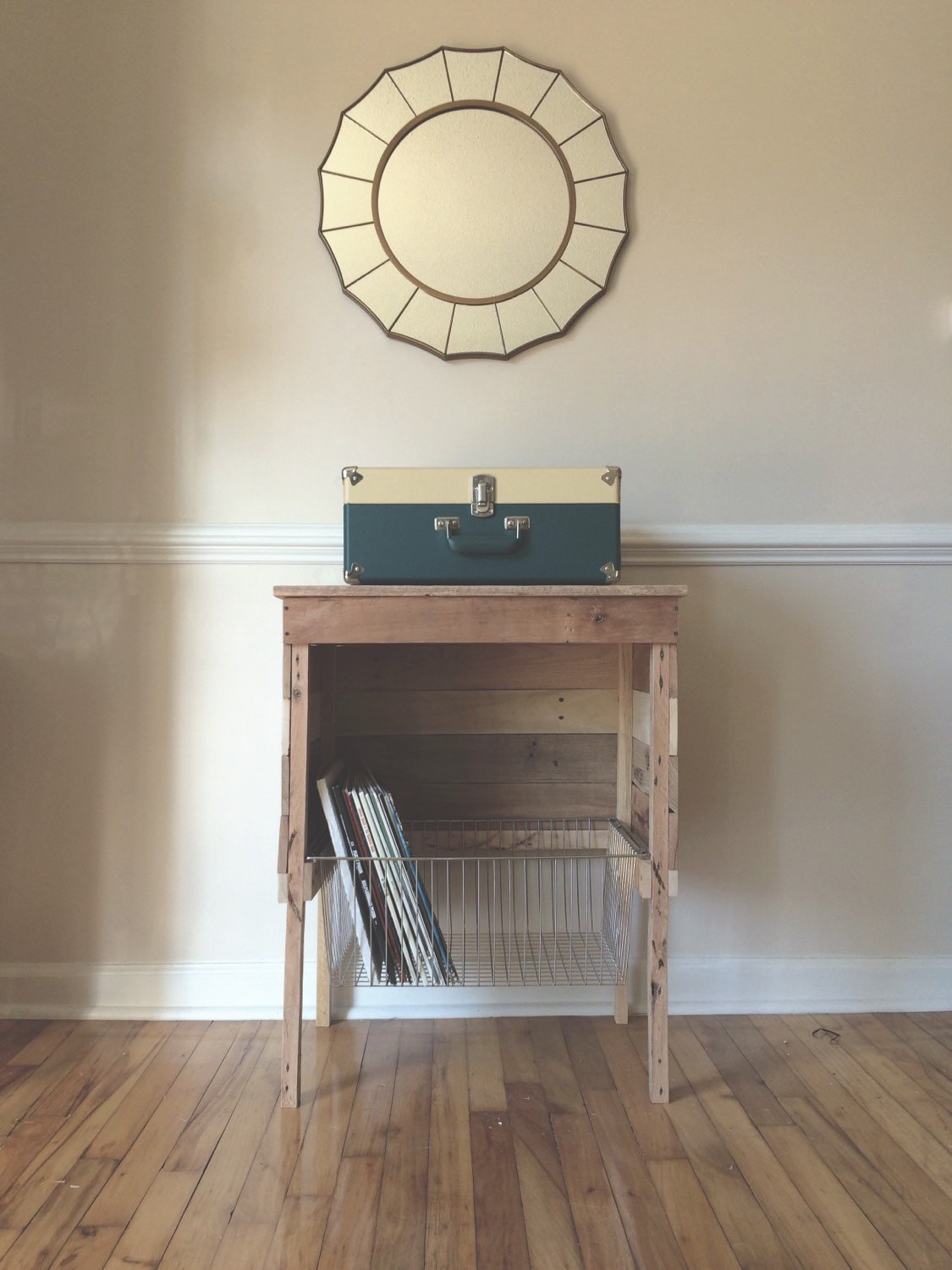Best ideas about Record Player Stand DIY . Save or Pin Reclaimed Record Player Storage Stand Now.