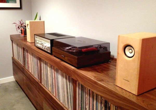 Best ideas about Record Player Stand DIY . Save or Pin Stereo Racks And Stands Foter Now.