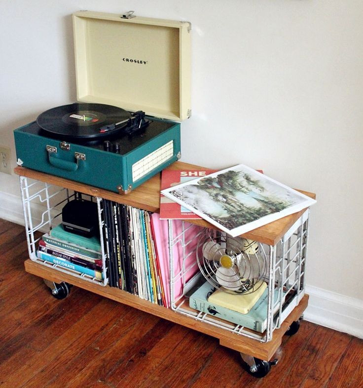 Best ideas about Record Player Stand DIY . Save or Pin How to Turn your room into a Vintage Rustic Bohemian Now.