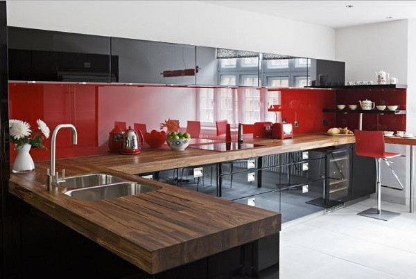Best ideas about Red Black And White Kitchen Decor . Save or Pin How to Design a Red and Black Kitchen Home Decor Buzz Now.
