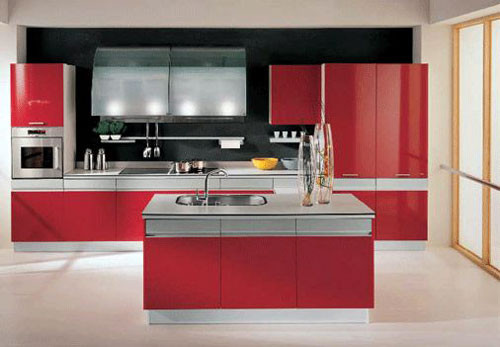 Best ideas about Red Black And White Kitchen Decor . Save or Pin Red and White Kitchen Design Ideas Now.