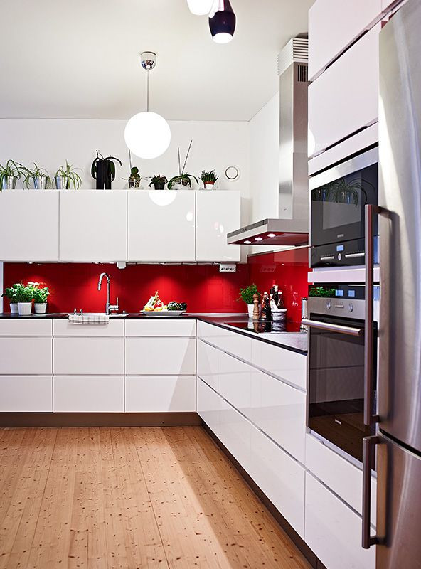 Best ideas about Red Black And White Kitchen Decor . Save or Pin Red And White Kitchen Decor Red And White Kitchen Decor Now.